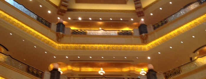 Emirates Palace Hotel is one of Hotels Round The World.