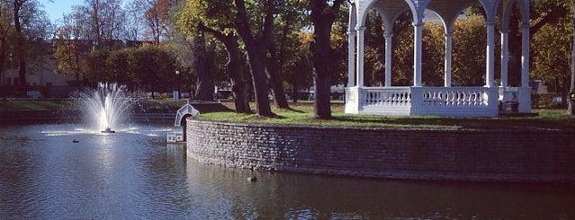 Kadriorg Park is one of Сходить в Таллине.