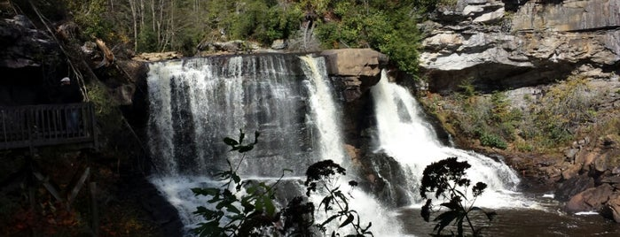 Blackwater Falls State Park is one of West Virginia.