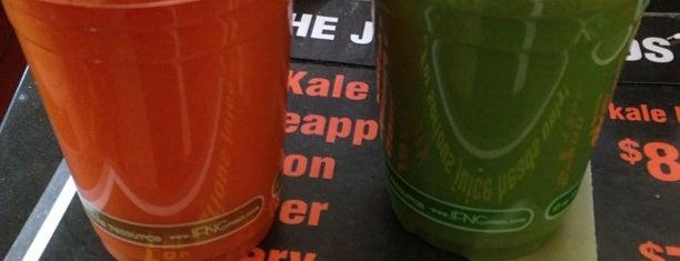 Sidewalk Juice is one of My San Francisco.