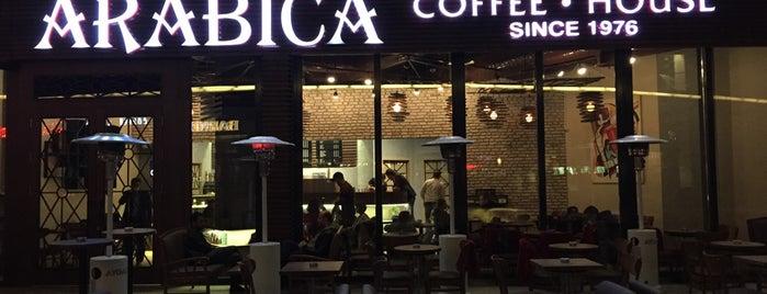 Arabica Coffee House is one of Yeme - İçme.