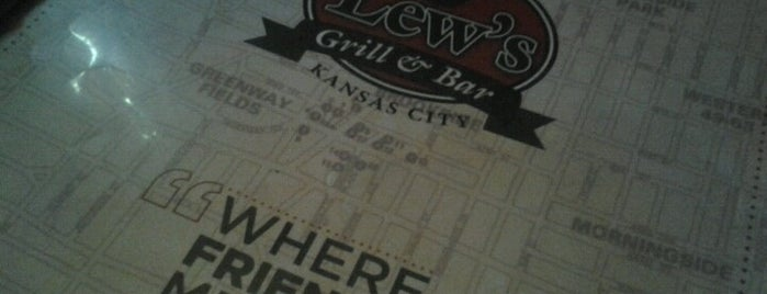 Lew's Grill & Bar is one of The 15 Best Places with Trivia in Kansas City.