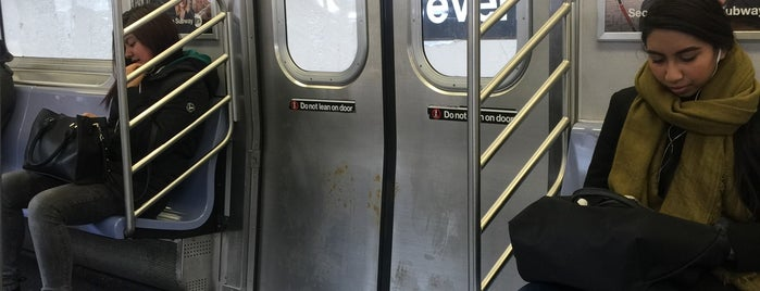 MTA Subway - Beverly Rd (2/5) is one of NYC Subways 4/5/6.