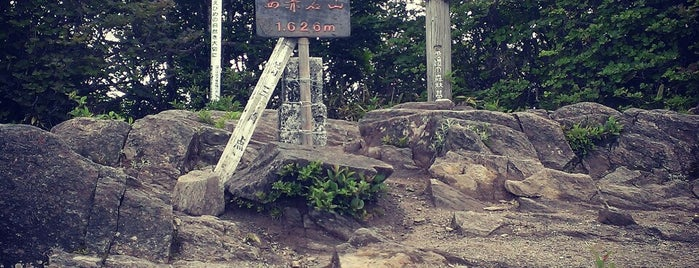 西赤石山 山頂 is one of 四国の山.