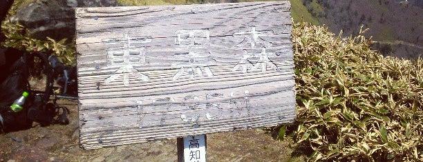 東黒森 is one of 四国の山.