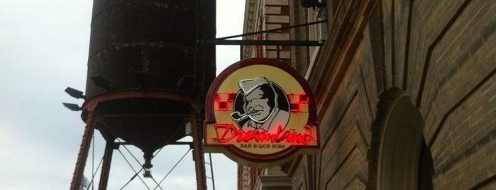 Dreamland BBQ is one of 20 favorite restaurants.
