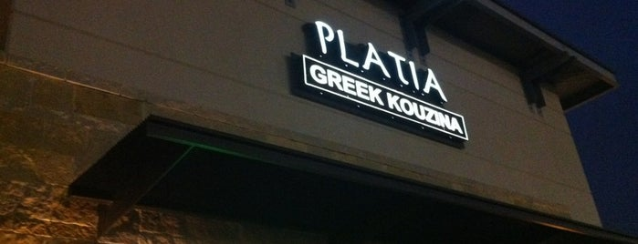 Platia Greek Kouzina is one of Texas.