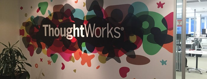 ThoughtWorks is one of Favorite Spots to Hang Out.