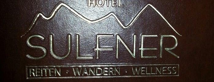 Hotel Sulfner is one of Lagundo e dintorni.