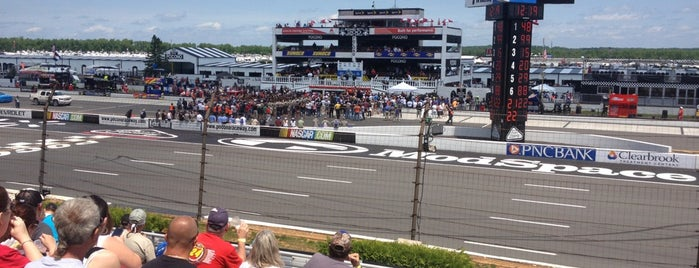 Pocono Raceway is one of My NASCAR Cup Series Trip List.