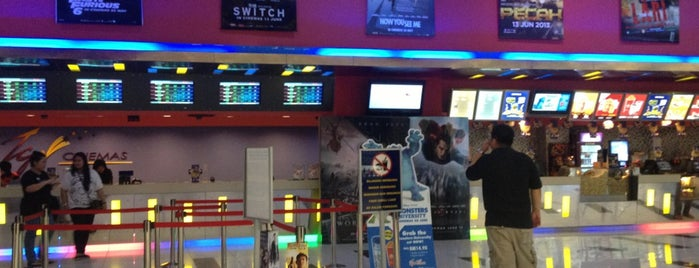 TGV Cinemas is one of Like & 95% confident interval satisfaction~~`_^.