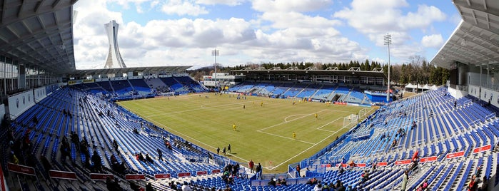 Stade Saputo is one of MLS Stadiums.