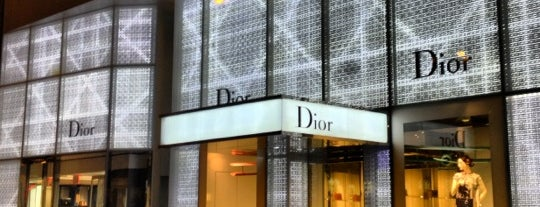 Dior is one of New York.