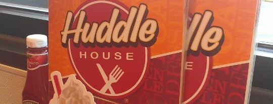 Huddle House is one of #CHAeats #4sq Specials.