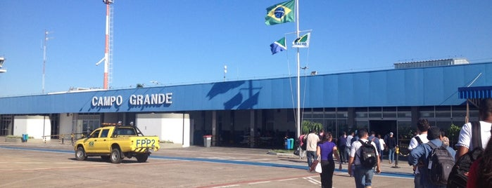 Arrivals Hall is one of Aeroporto Internacional de Campo Grande (CGR).
