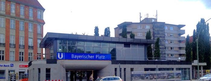 U Bayerischer Platz is one of Besuchte Berliner Bahnhöfe.