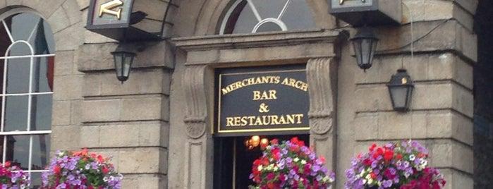 Merchant's Arch Bar & Restaurant is one of Fix.