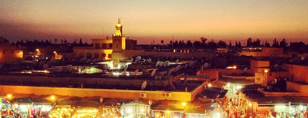 Place Jemaa el-Fna is one of Favourite's places.