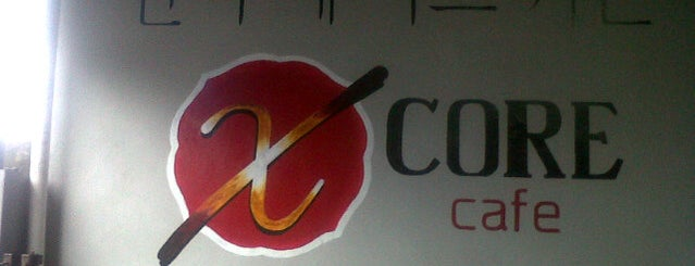X-Core Cafe is one of place.