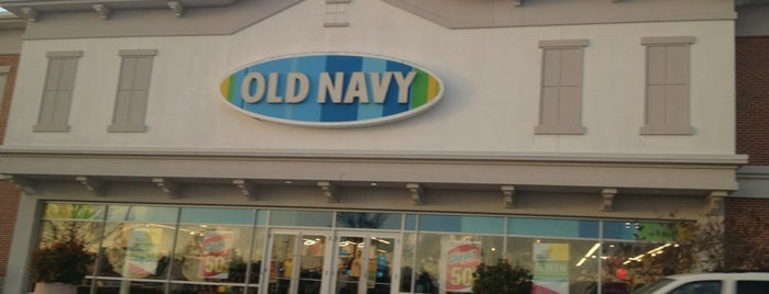 Old Navy is one of Favorites.