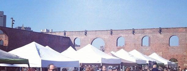 Smorgasburg is one of Brooklyn.