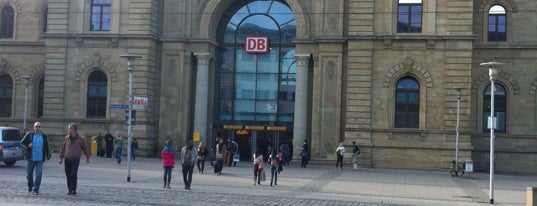 Magdeburg Hauptbahnhof is one of Official DB Bahnhöfe.