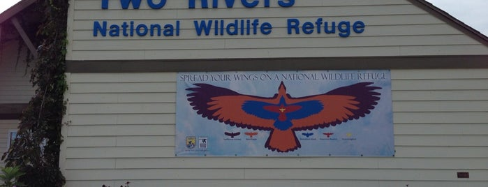 Two Rivers National Wildlife Refuge, Brussels is one of Eagle Watching Hot Spots.