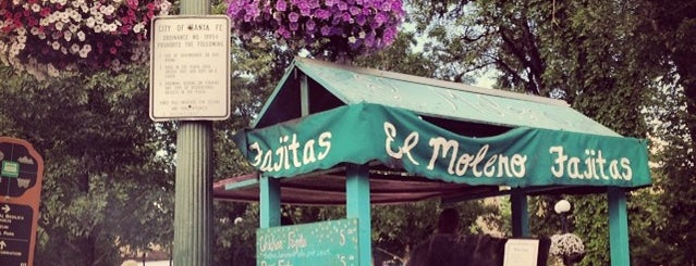 El Molero Fajita Stand is one of Become a Santa Fean in 10 Check-Ins.