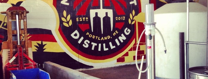 Maine Craft Distilling is one of Maine & New Hampshire.