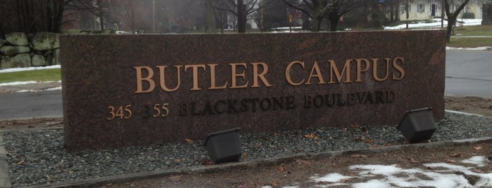 Butler Hospital is one of just a list of places.