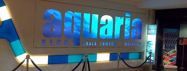 Aquaria KLCC is one of malaysia/KL.