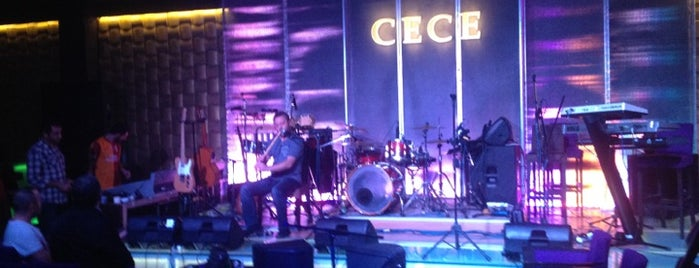 Cece Club Live is one of Eğlence - Antalya.
