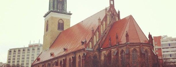 Marienkirche is one of Berlin.