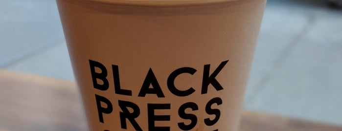 Black Press Coffee is one of NYC Manhattan 14th-65th Sts & Central Park.