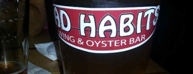 Bad Habits Wing & Oyster Bar is one of Best Places in Chesapeake.