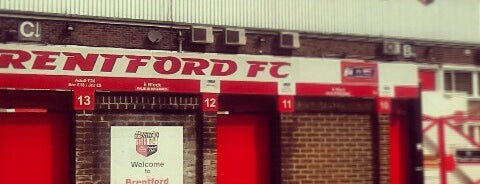 Griffin Park is one of Sky Bet Championship Stadiums 2015/16.