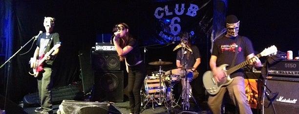 Club Six is one of San Francisco.