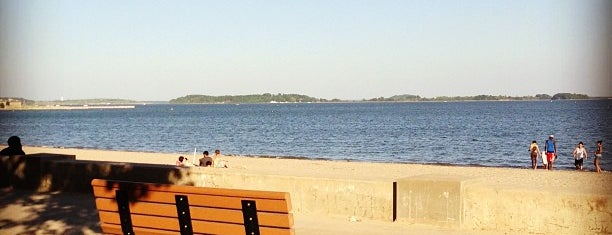"""Carson Beach is one of To the Sea By """"T""""."""