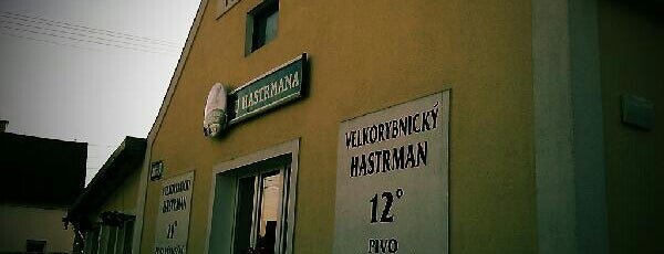 U Hastrmana is one of Pivovary ČR - Czech Breweries.