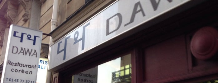 Dawa is one of Paris FTW.