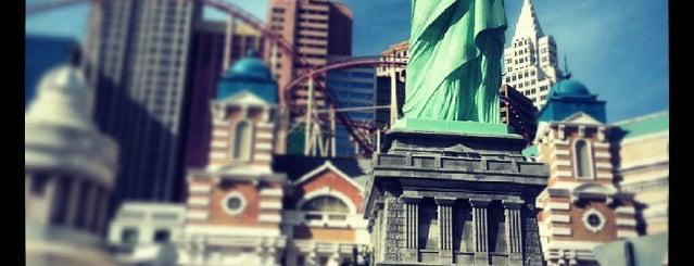 New York-New York Hotel & Casino is one of Las Vegas to-do.