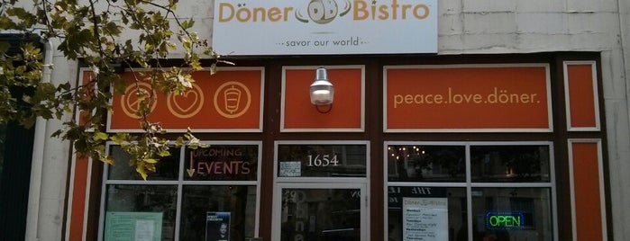 Döner Bistro is one of Near House Eats.