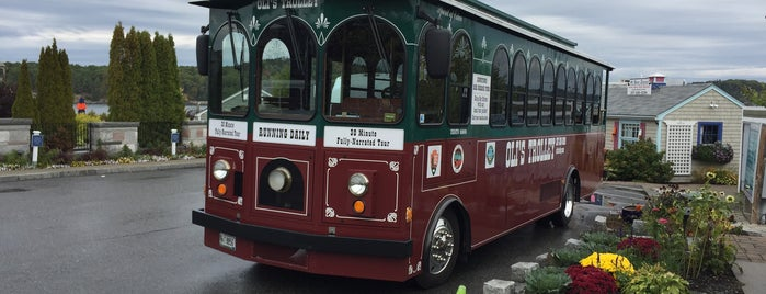 Oli's Trolley is one of Maine!.