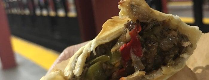 Nuchas Artisan Empanadas is one of NYC Food on Wheels.