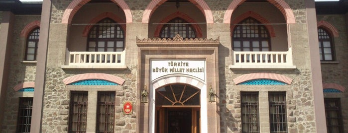 Cumhuriyet Müzesi (II. TBMM Binası) is one of Ankara.