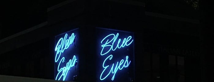 Blue Eyes Cafe is one of Hoboken.