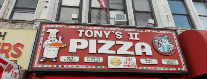 Tony's Pizza is one of NYC - Quick Bites!.