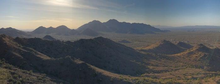 San Tan Mountain Regional Park is one of Maricopa County Parks.