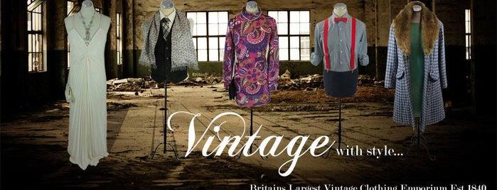 Armstrongs Vintage is one of Edinburgh.