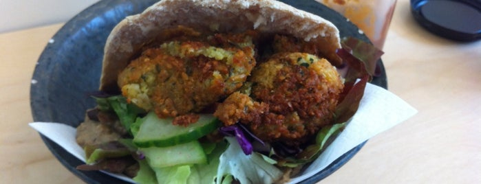 Chana - Pakora & Falafel is one of S Marks The Spots in BRUSSELS.